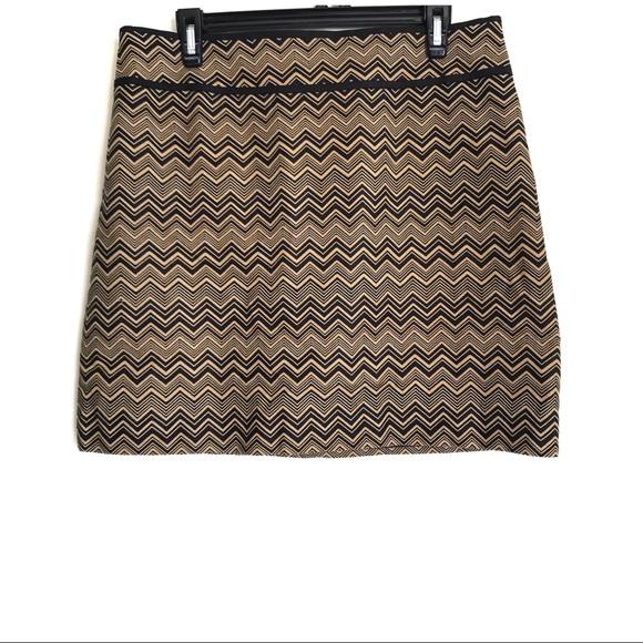 LOFT Dresses & Skirts - Ann Taylor LOFT Chevron Skirt